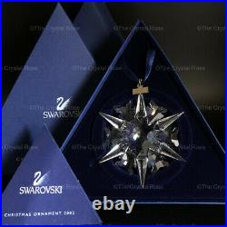 RARE Retired Swarovski Crystal 2002 Christmas Snowflake Ornament 288802 Boxed