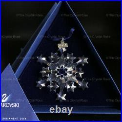RARE Retired Swarovski Crystal 2004 Christmas Snowflake Ornament 631562