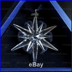 RARE Retired Swarovski Crystal 2005 Christmas Snowflake Ornament 680502 Mint