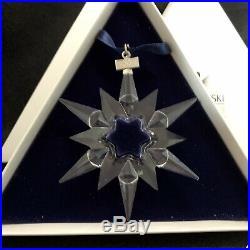 RARE Retired Swarovski Crystal Snowflake 1997 Christmas Annual Edition 211987