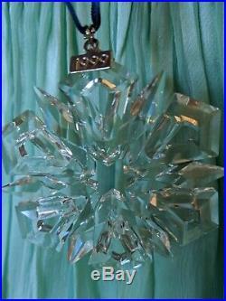RARE Vintage 1999 Swarovski Austrian Crystal Snowflake ...