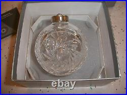 RARE Waterford 2005 CRYSTAL Times Square Ball Ornament HOPE FOR WISDOM WITH BOX