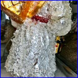 Radko 2006 CRYSTAL WARMHEART SANTA Glass Christmas Ornament 1013200