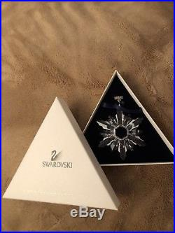 Rare 1998 Swarovski Crystal Christmas Large Ornament Annual Edition 1998 5180210