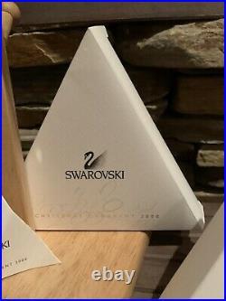 Rare 2000 Swarovski Crystal Christmas Ornament with Original Box