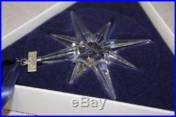 Rare Swarovski Crystal Holiday Christmas Ornament 1995 #194700