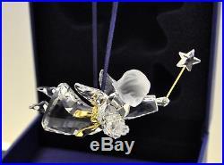 Rare Swarovski Crystal Memories Ornament Angel 2004 Xmas 9443 / 665054 MIB