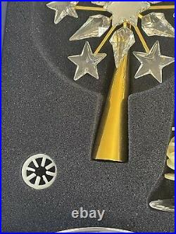 Retired! Rare! Swarovski Christmas Tree Topper Crystal Shining Star