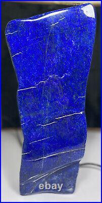 Royal Blue Grade A Lapis Lazuli Large Free Form tumbled decoration crystal 6.9kg