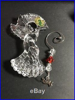 SIX Waterford Crystal Christmas Ornament ANNUAL ANGEL NEW IN BOX