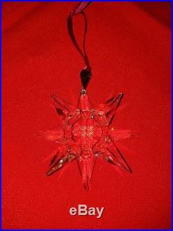 SWAROVSKI 1991 snowflake rare crystal Christmas ornament no Box