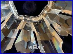 SWAROVSKI 1998 Snowflake Annual Christmas Tree Crystal Star 3 Ornament With Box
