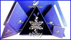 SWAROVSKI Annual Edition 2008 Large Star SNOWFLAKE Christmas Crystal Ornament
