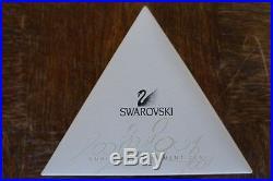 SWAROVSKI CHRISTMAS Authentic ORNAMENT 2001 267941 MINT BOXED RETIRED RARE