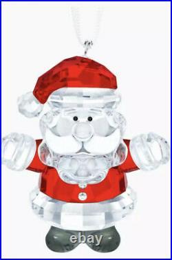SWAROVSKI CHRISTMAS ORNAMENT SANTA CLAUS 5286070 RETIRED Christmas