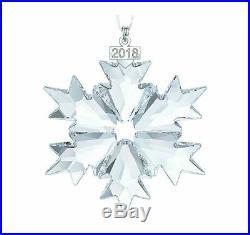 SWAROVSKI CHRISTMAS ORNAMENT SET 2002-2018/ set of 17 MIB