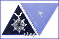 SWAROVSKI CRYSTAL 2013 ANNUAL LARGE CHRISTMAS ORNAMENT Snowflake In Box