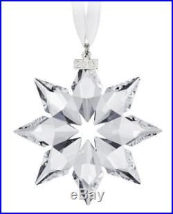 SWAROVSKI CRYSTAL ANNUAL CHRISTMAS ORNAMENT 2013 LARGE STAR #5004489 WithCOA NIB