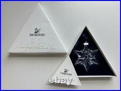 SWAROVSKI CRYSTAL ANNUAL HOLIDAY CHRISTMAS ORNAMENT 2000 With ORIGINAL BOX