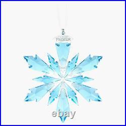SWAROVSKI CRYSTAL FIGURINE DISNEY Frozen Snowflake Ornament 5286457 New Series 1