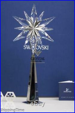 SWAROVSKI Christmas Xmas Tree Topper Rockefelller Centre Shining Star 843215