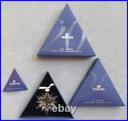 SWAROVSKI Crystal 2011 Annual Large Snowflake Star Christmas Ornament Mint & NIB