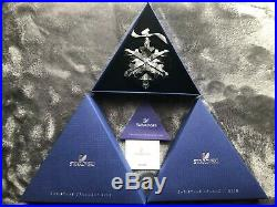 SWAROVSKI Crystal 2012 Annual Large Snowflake Star Christmas Ornament NEW