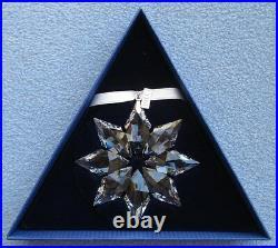 SWAROVSKI Crystal 2013 Annual Large Star Snowflake Christmas Ornament Mint & NIB