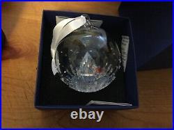 SWAROVSKI Crystal 2013 Christmas Tree 3 Ball Ornament 1st Edition 5004498 NWT