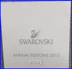 SWAROVSKI Crystal 2015 Annual Large Snowflake Star Ornament NIB # 5099840