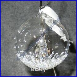 SWAROVSKI Crystal CHRISTMAS BALL ORNAMENT AE 2013 #5004498 BNIB Free Shipping