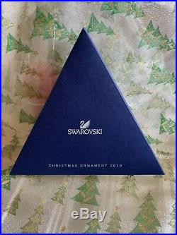 SWAROVSKI Crystal CHRISTMAS ORNAMENT 2010 Snowflake STAR Original Box