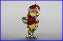 SWAROVSKI Figurine DISNEY Christmas Ornament Winnie the Pooh 5030561