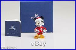 SWAROVSKI Figurine DISNEY Mickey Mouse Christmas Ornament 5004690