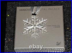 SWAROVSKI / UNICEF 2009 snowflake ornament LE 1000 pcs worldwide only, FREE SHIP