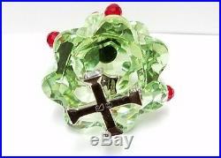 SWAROVSKI crystal Christmas tree green ornament 2 swan logo