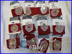 Set of 12 Waterford Crystal 12 Days of Christmas Ornaments incl. 1982 3 avail