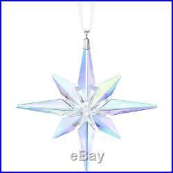 Star Ornament Crystal Ab Aurora Borealis 2018 Christmas Swarovski 5403200
