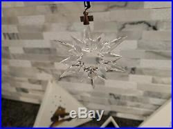 Stunning 1997 SWAROVSKI Christmas CRYSTAL Ornament MIB Mint Limited Edition L19