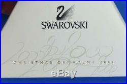 Superb SWAROVSKI Limited Annual Edition 1998 STAR CHRISTMAS TREE Ornament BOXED