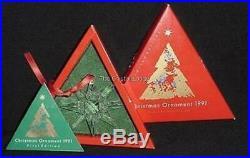 Swarovski 1991 Christmas Ornament (europe) 164937 Mint Boxed Retired Rare