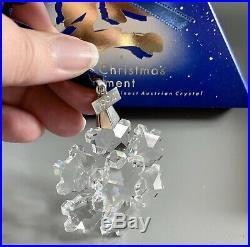 Swarovski 1994 Christmas Hanging Snowflake Star Tree Ornament 181632