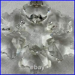 Swarovski 1994 Ornament Star Snowflake Annual Christmas Holiday Crystal 4S1
