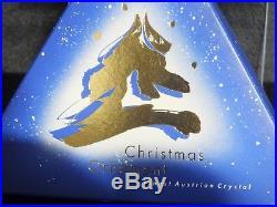 Swarovski 1994 Star Crystal Annual Snowflake Christmas Ornament 181632 MINT COA