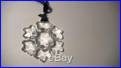 Swarovski 1994 Star Snowflake Austrian Crystal Christmas Ornament
