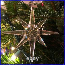 Swarovski 1995 Crystal Holiday snowflake ornament Rare Collectors Item