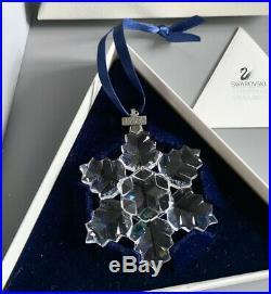 Swarovski 1996 Christmas Hanging Snowflake Star Tree Ornament 199734