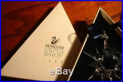 Swarovski 1997 Crystal Annual Christmas Ornament in Box