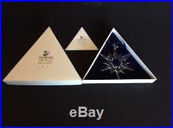 Swarovski 1997 Crystal Christmas Large Ornament Annual Edition