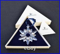 Swarovski 1998 Annual Snowflake Star Crystal Christmas Ornament MINT IN BOX RARE